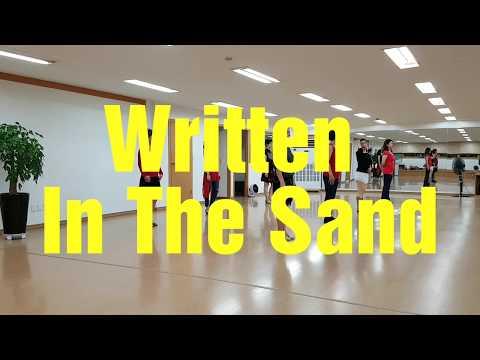 Written In The Sand - Line Dance