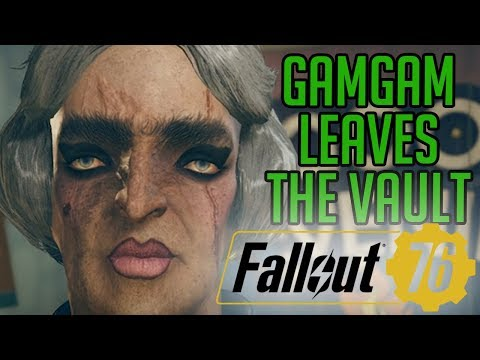 Gamgam Leaves Vault 76 (Fallout 76 PC Beta w/ Diction)