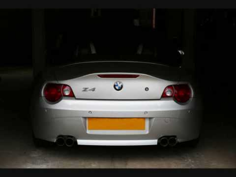Bmw Z4 Eisenmann Quad Exhaust Sound Clip Youtube