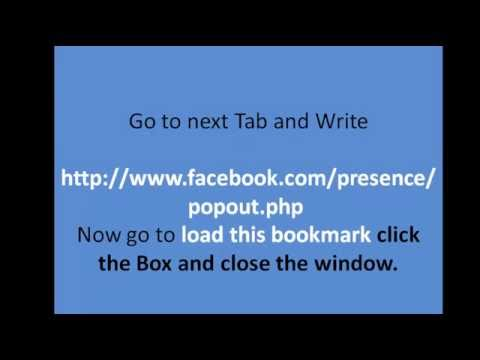 Facebook Secrets | How To Drag Facebook Chat Options On Both Sides
