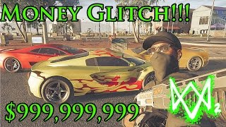 Watch Dogs 2 Best unlimited Money Glitch/ Hack/ mod - Buy Super Cars, Clothes and more