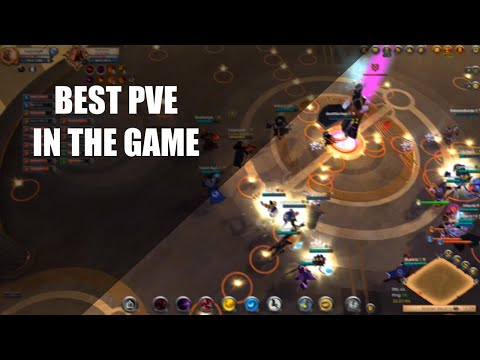 Albion Online: Avalonian Dungeon #1: Knight Captain & Archmage Bosses