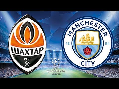 Champions League 2017/18 - Shakhtar Donetsk Vs Manchester City - 06/12/17 - FIFA 18