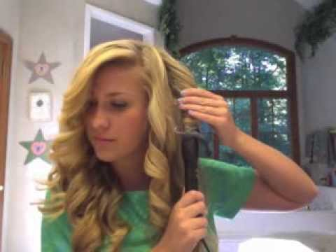 how to curl your hair l hannahshanae youtube