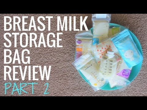 Collective Breast Milk Storage Bag Review - Part 2 // 2017