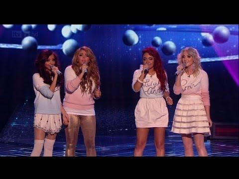 Christmas carols Little Mix stylee! - The X Factor 2011 Live Final - itv.com/xfactor
