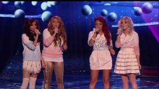 Christmas carols Little Mix stylee! - The X Factor 2011 Live Final - itv.com/xfactor