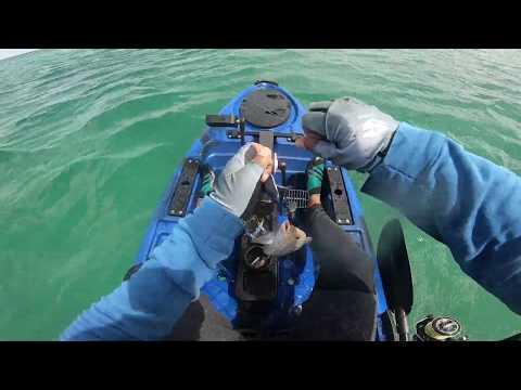 Ep#20- Inshore Kayak Fishing In  Mauritius - Trolling Jerkbaits