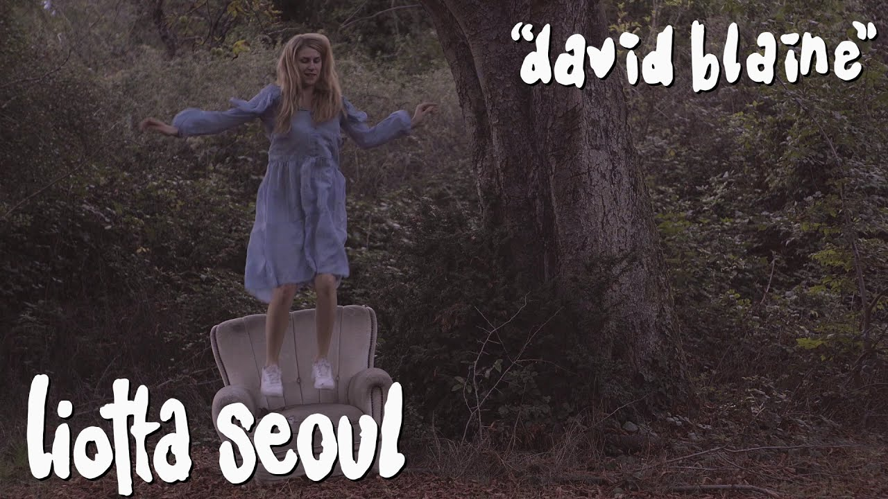"LIOTTA SEOUL ""DAVID BLAINE"" NEW SINGLE ON KROD RECORDS"