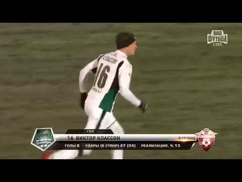 Amkar 1–3 Krasnodar
