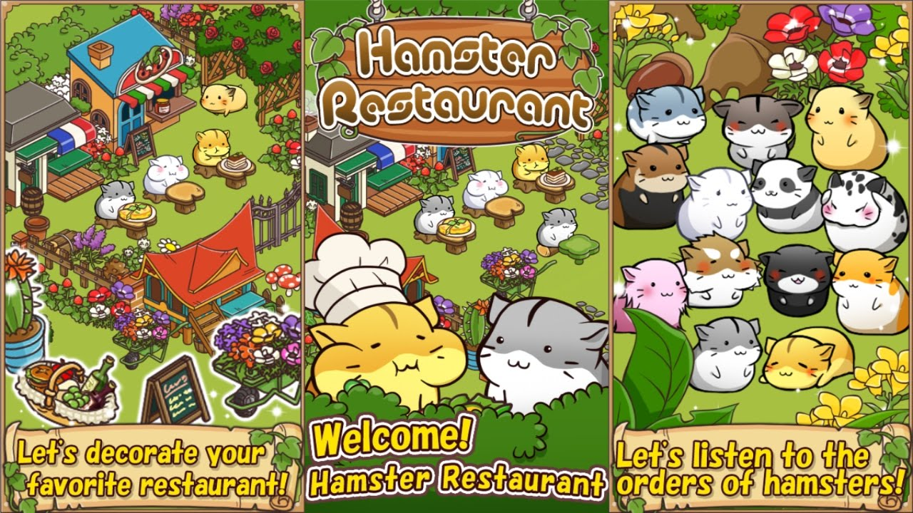 Hamster Restaurant Android Gameplay