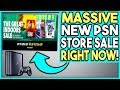 MASSIVE NEW PSN STORE SALE RIGHT NOW - HUNDREDS OF GREAT DEALS!