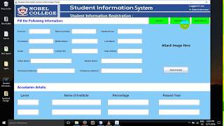 Java project tutorial, student information system, login system using java, simple project, source code, mis in download lin...