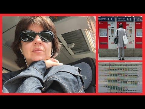 Viajar en Tren en Alemania - Sin Estrés (de Mannheim a Munich)