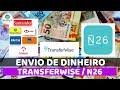 Como Enviar DINHEIRO pelo Transferwise para conta no exterior Banco N26   Dicas de Viagem   Worldby2