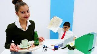 Работа для Полен - Секретарь - Видео для девочек