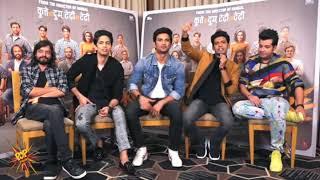 Comedy scene while Chhichhore interview