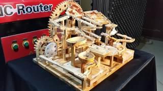 Marble Machine - Huge gears (4 Blocks Marble Race)