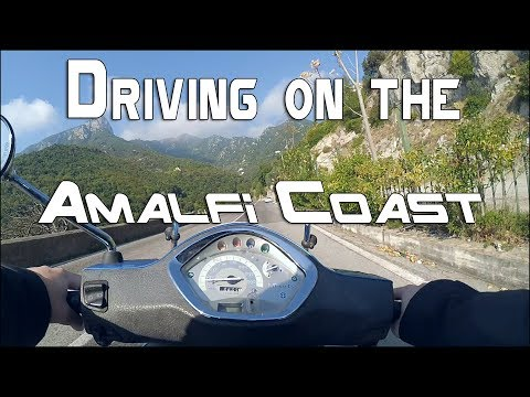 Driving on the Amalfi Coast - GoPro 60fps Italy  2017