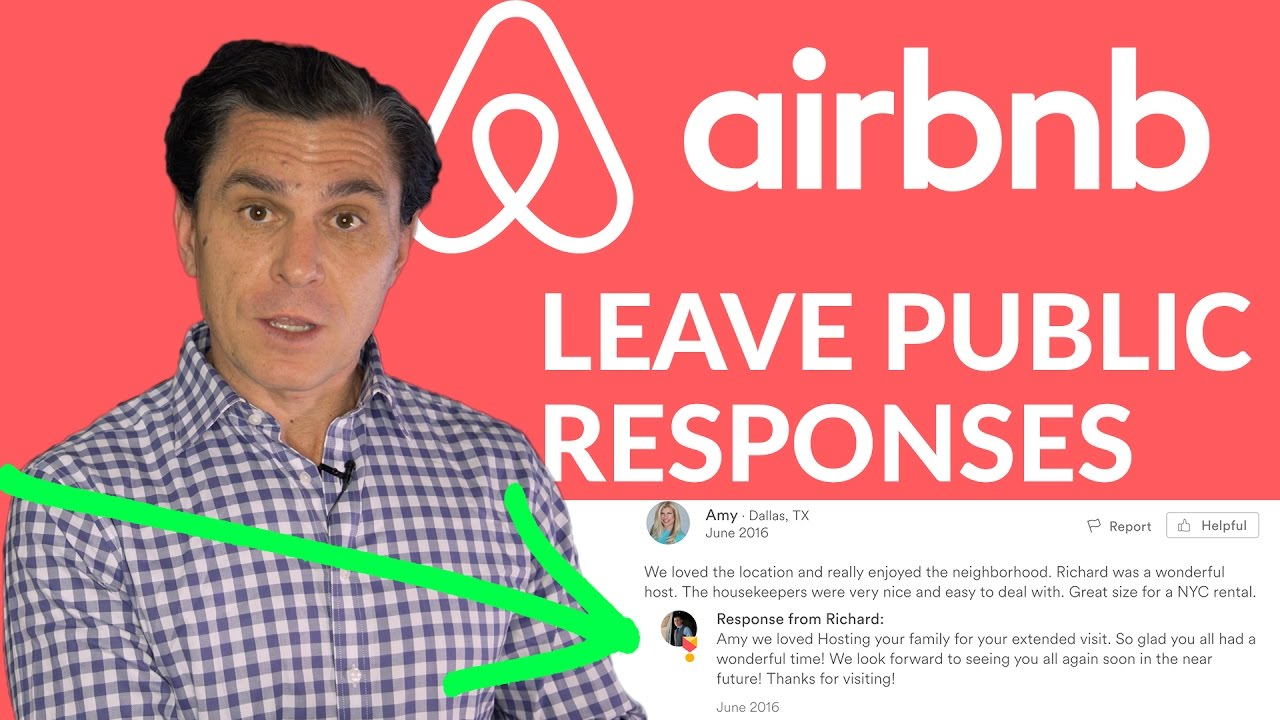 Airbnb Tips: Leave Public Responses on Positive Reviews Too! (not just  negative reviews)