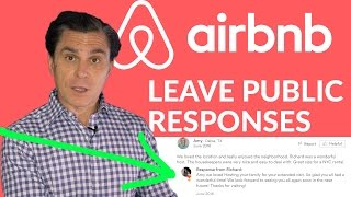 Gambar cover Airbnb Tips: Leave Public Responses on Positive Reviews Too! (not just negative reviews)