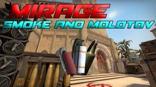 CS:GO - 2016 New Mirage Smokes and Molotov