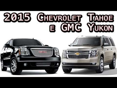 2015 Chevrolet Tahoe e GMC Yukon - Cars in Auction by O Braz