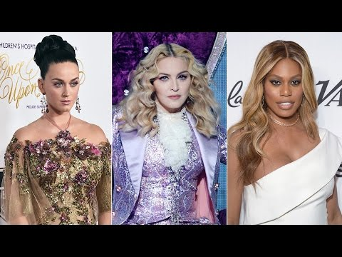 Katy Perry Madonna and More Stars React to Donald Trump