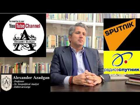 Prof. Azadgan (Live on Russia's Radio Sputnik) - What's Really Behind Gov. Shutdown?