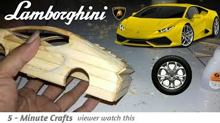 [ DIY ] SPORT CAR AMAZING IDEAS...