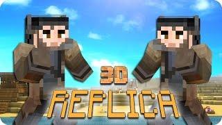 ¡EL ARO DE FUEGO! REPLICA 3D | Minecraft Con Sara, Luh, Exo Y Macundra