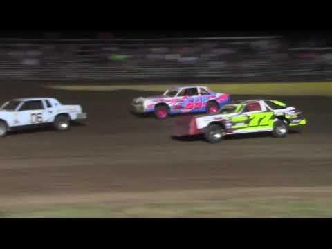 """Salina Speedway 7-26-19 """"Busch Light"""" IMCA Hobby Stocks"""