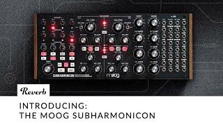 The Moog Subharmonicon Semi-Modular Polyrhythmic Synthesizer