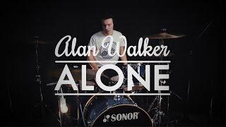 Video Alan Walker - Alone - Drum Cover download MP3, 3GP, MP4, WEBM, AVI, FLV Januari 2018