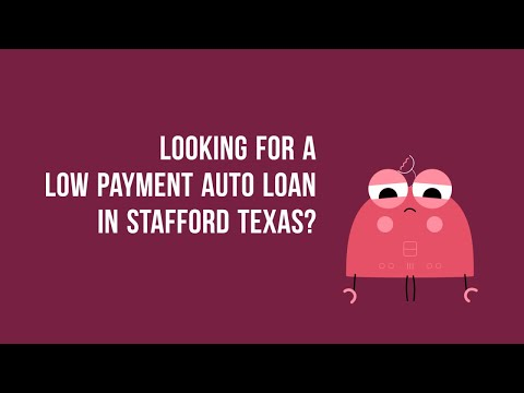 ZeroDown Auto Financing in Stafford TX bad Credit or Good Credit