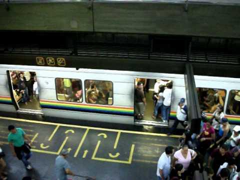 metro de caracas subway..