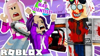 MAD SCIENTIST STORY! (Good & Bad Ending) 🧪🧬 / ROBLOX