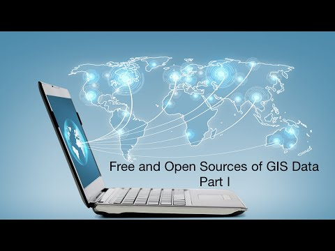 Free And Open Source GIS Reference Data
