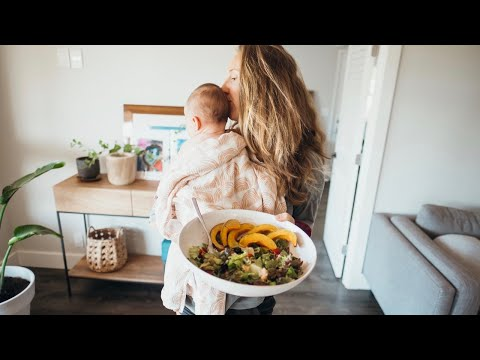 What I ate today as a Vegan Breastfeeding Mom