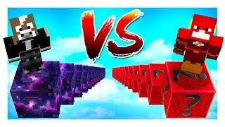 DUELO LUCKY BLOCKS DIOROS vs LUCKY BLOCKS GALAXIA😱✨- MINECRAFT LUCKY BLOCK MODS