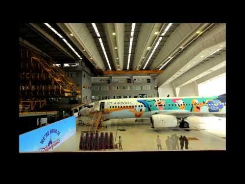 Jet Airways' Disney branded aircraft