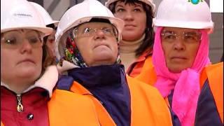 Была организована ознакомительная экскурсия на действующий карьер ООО «Еристовский ГОК»(, 2015-12-09T16:43:11.000Z)