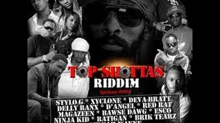 DJ Kaas - Top Shottas Riddim Mix [Usain Bolt fastest man in the world reggae dancehall]