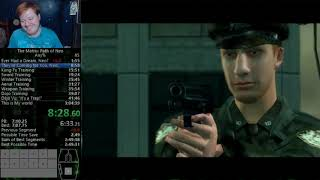The Matrix: Path of Neo - any% in 2:52:14