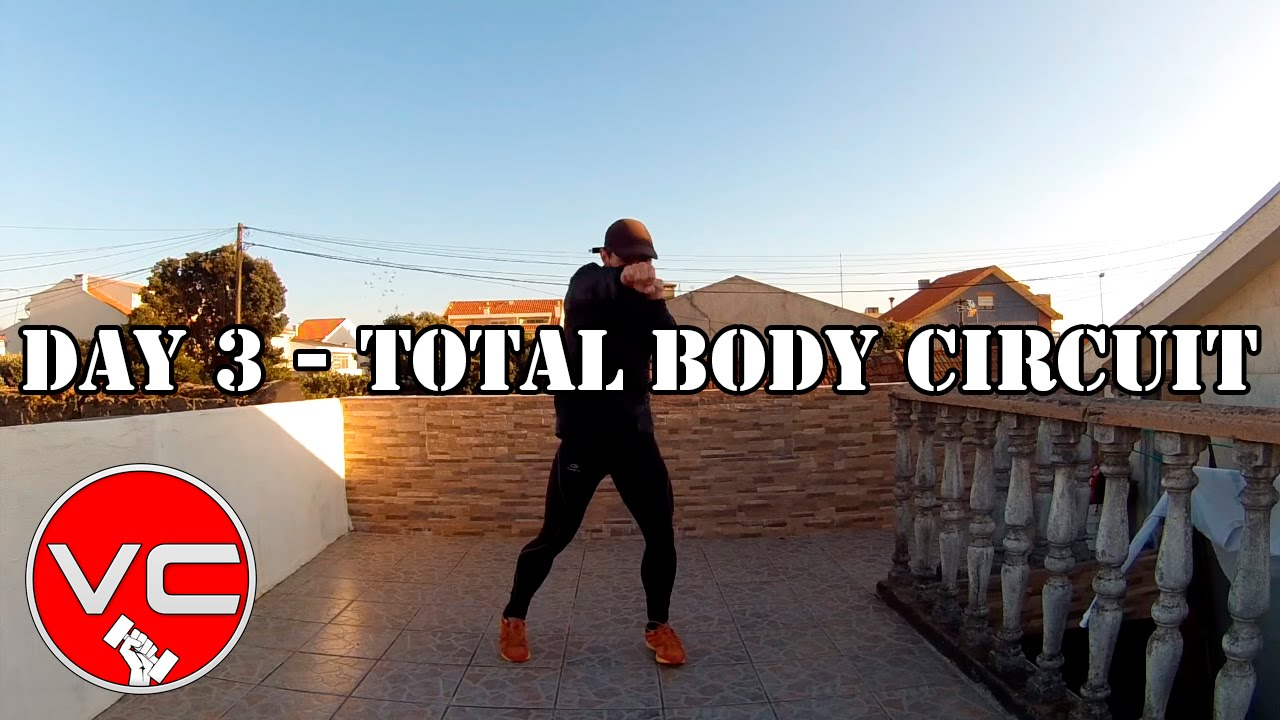 DAY 3 - 25 MIN FAT BURNER WORKOUT - TOTAL BODY CIRCUIT