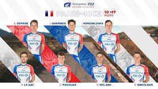 La bande-annonce de l'équipe Groupama-FDJ pour Paris-Nice 2019