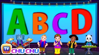 ABCD Alphabet Song - Nursery Rhymes Karaoke Songs For Children | ChuChu TV Rock