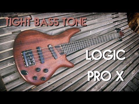 Tight metal/djent bass tone w/ Logic Pro X plugins (real & MIDI bass)