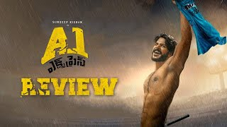 A1 Express Telugu Movie Review | Sundeep Kishan, Lavanya Tripathi | Hiphop Tamizha | THYVIEW