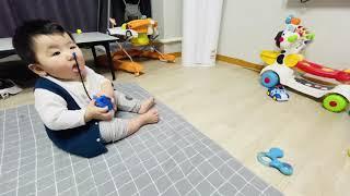 (똘갱)자동차장난감으러 놀기 30초가 한계네.. 집중하…